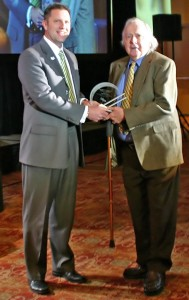 OVMA Life Member Dr. George Kukor was recognized with the Distinguished Service Award.