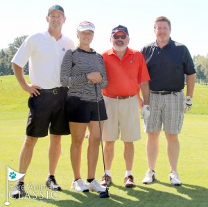 Special thanks to our sponsors, including The Basement Doctor's Ron Greenbaum (second from right), for supporting the event.